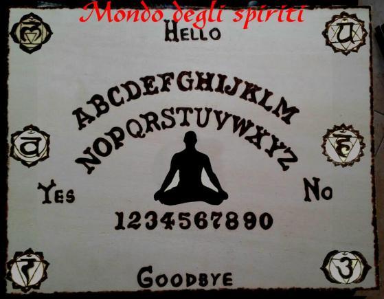 tavola ouija chakras planchette mondo degli spiriti
