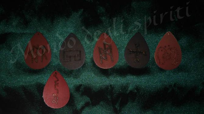 talismani runici scudo protettivo pace interiore poteri psichici sigilli pianeti goetia arcangeli
