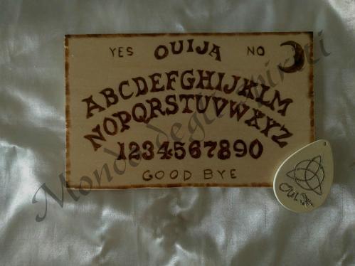 mini tavola spiritica ouija planchette mondo degli spiriti