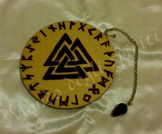 oracolo runico rune pendolino odino